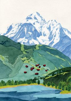 Summer mountain