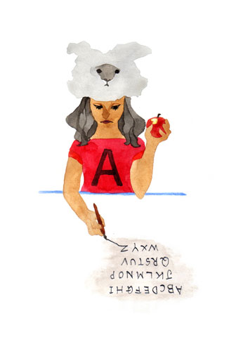alphabet-A