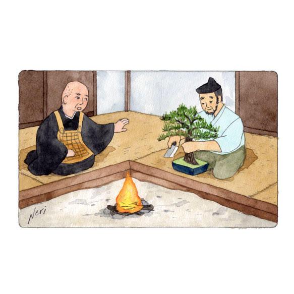 建長寺物語挿絵