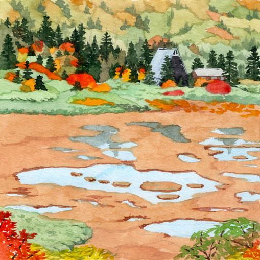 火打山、高谷池
