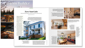SYMBI's Duplex One Featured in Custom Builder Magazine Summer 2021 Issue