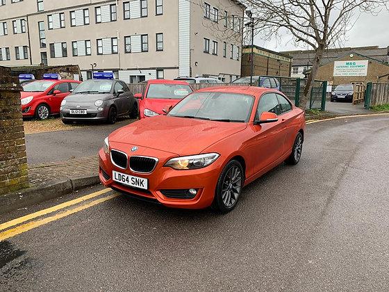 BMW 2 Series 2.0 218d SE (s/s) 2dr