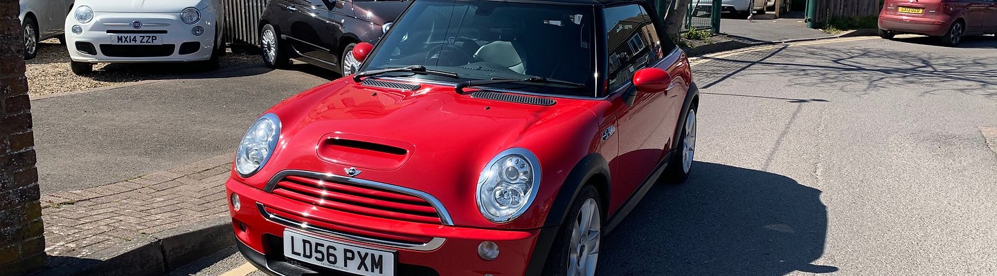 MINI CONVERTIBLE 1.6 Cooper S 2dr CHILLIE PACK