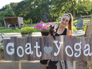 Goat Yoga Katy Sign