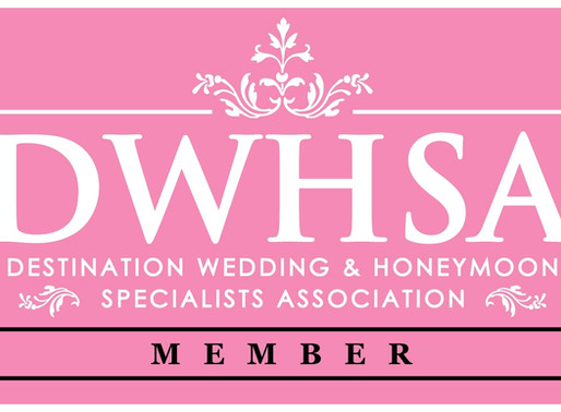 Woohoo!!!  I'm officially a Destination Wedding & Honeymoon Specialists!