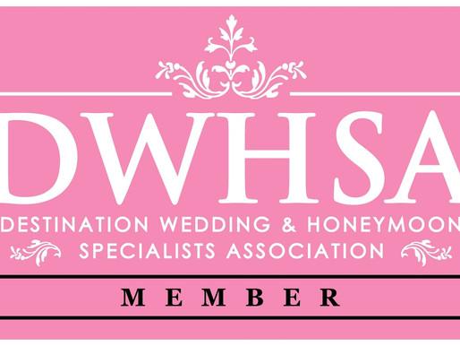 Woohoo!!!  I'm officially a Destination Wedding & Honeymoon Specialists!