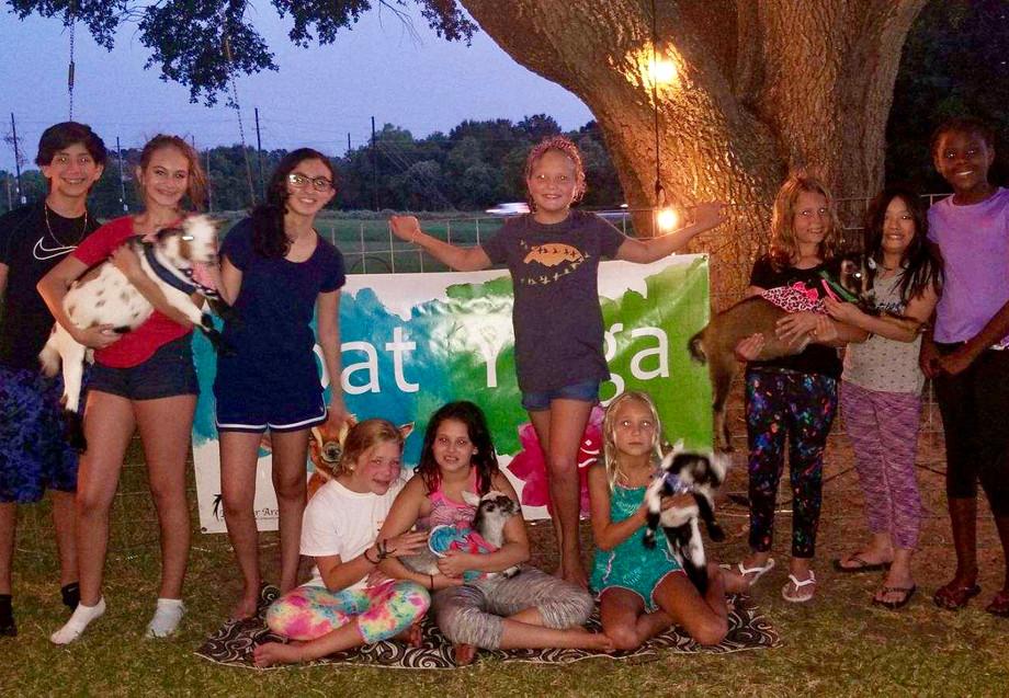 Goat Yoga Katy Birthday Party
