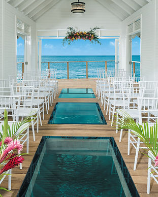 Sandals Wedding Chapple
