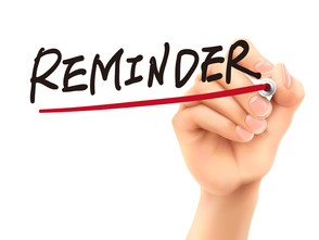 Important Reminders From Your Leasing Office