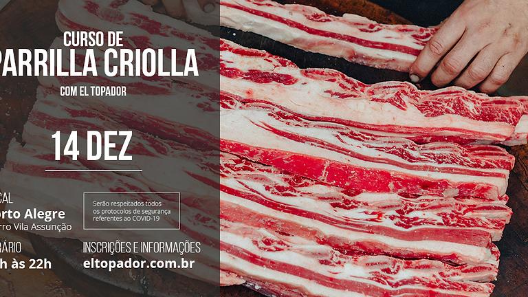 Curso Parrilla Criolla - POA - 14DEZ