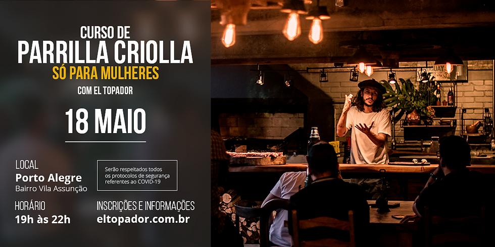 Curso Parrilla Criolla - SÓ PARA MULHERES - POA