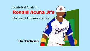 Statistical Analysis: Ronald Acuña Jr's Dominant Offensive Season
