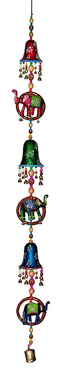 Super Large 5FT Bell Style Hanging with Elephant