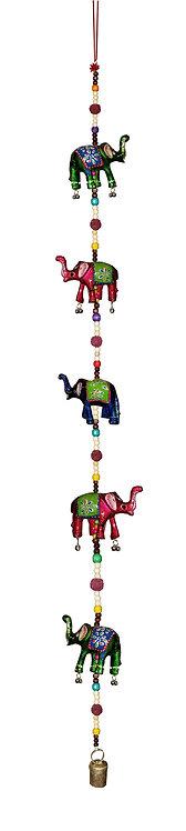 5 Elephant Hanging