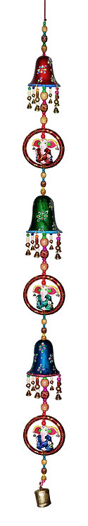 Super Large 5FT Bell Style Hanging with Ganesha