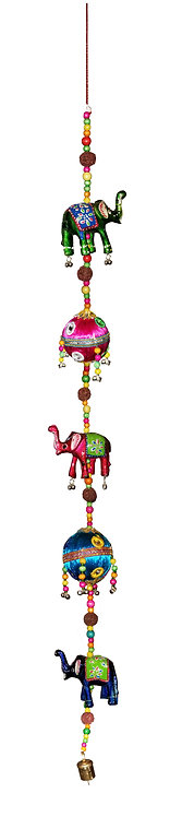 2 Threaded Balls 3 Elephant Hangings