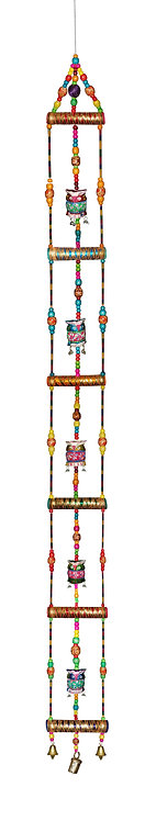 Super Large 5FT Ladder Style Hanging with OWL