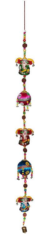 2 Threaded Balls 3 Ganesha Hangings