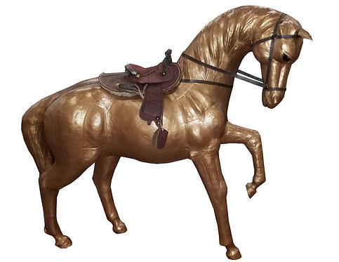 Leather Marching Horse