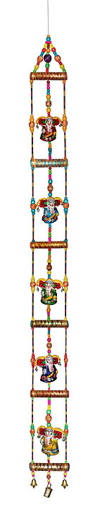 Super Large 5FT Ladder Style Hanging with Ganesha
