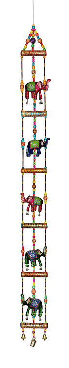 Super Large 5FT Ladder Style Hanging with Elephant