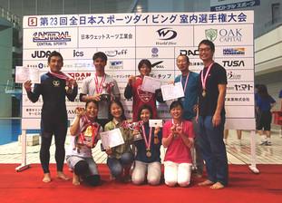 第23回全日本スポーツダイビング室内選手権大会