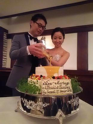 ご報告『ご結婚おめでとうございます』