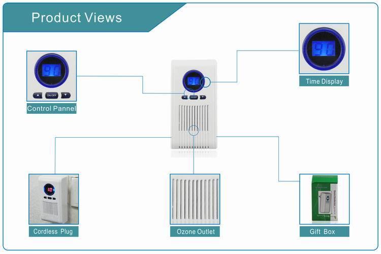 Ozonificador para baños o espacios pequeños.   AIRE