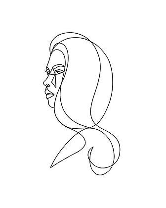 Naomi Print