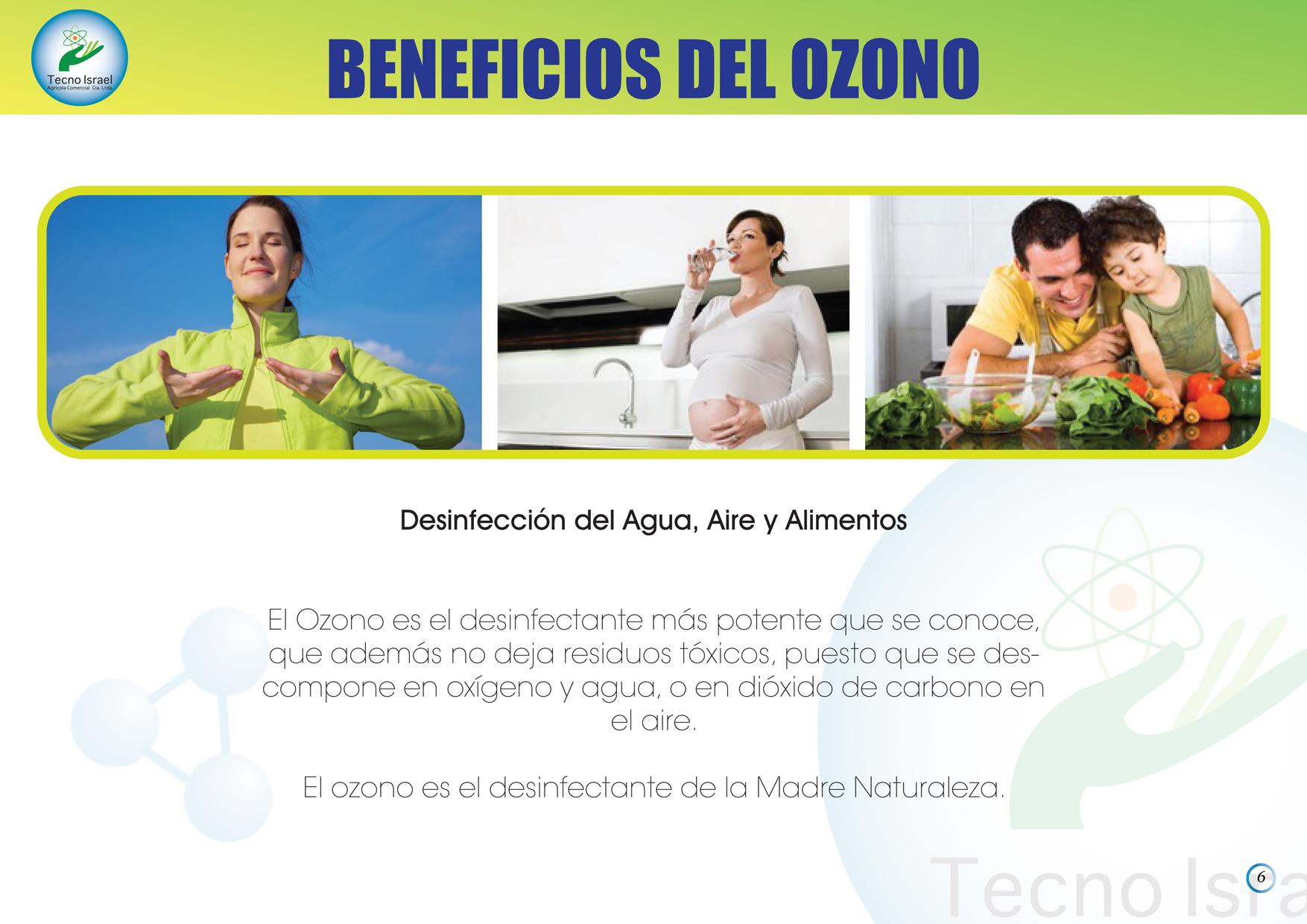 Beneficios del Ozono