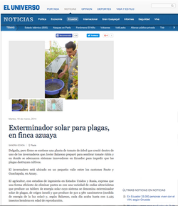 Reportaje El Universo