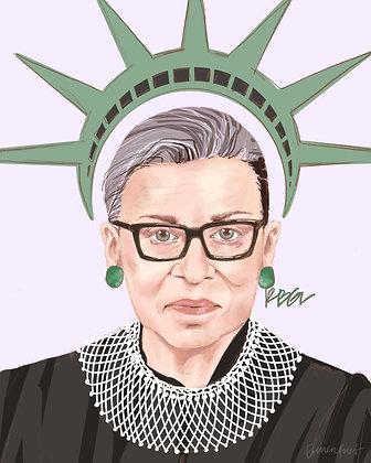 Ruth Bader Ginsburg Print