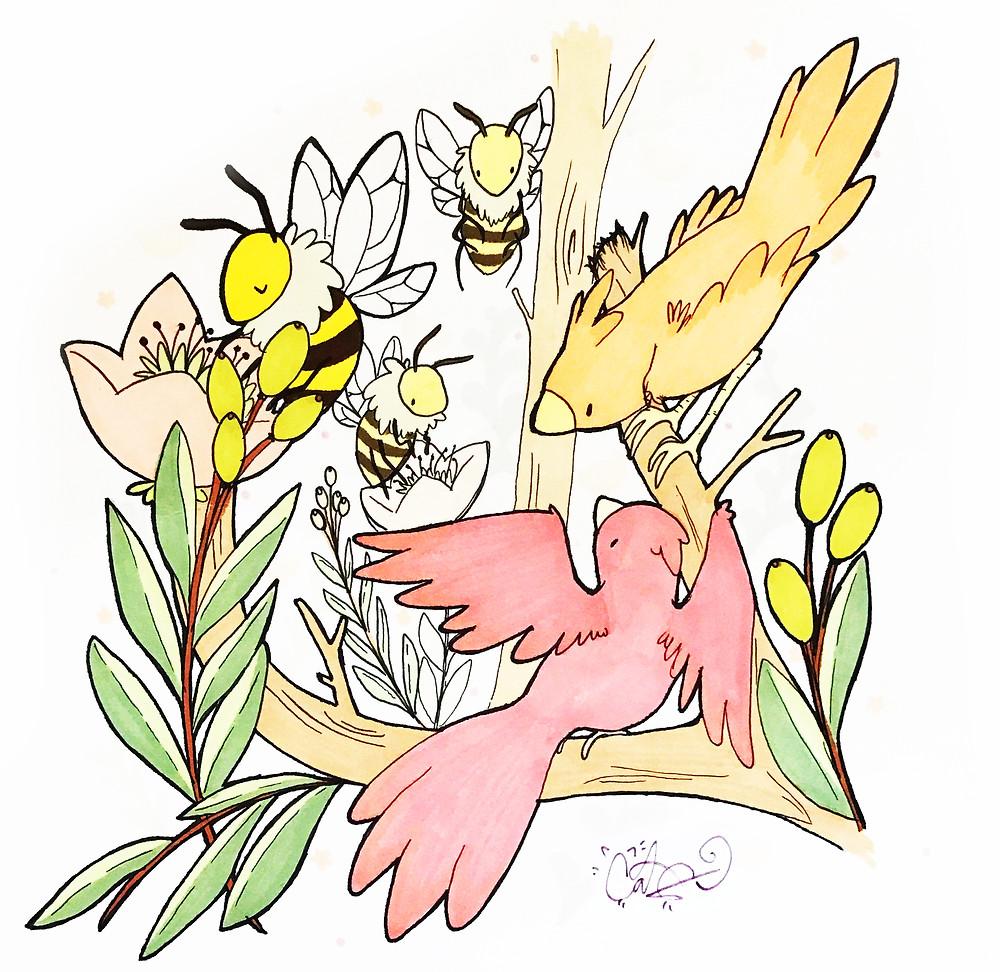 Birds and Bees Prof Magazine