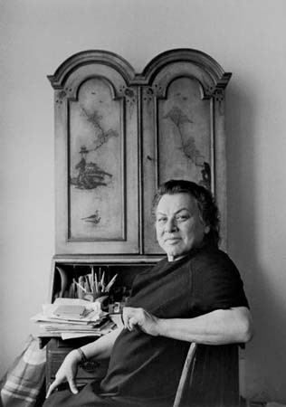 Muriel Rukeyser. Photo credit: Encyclopedia Britannica