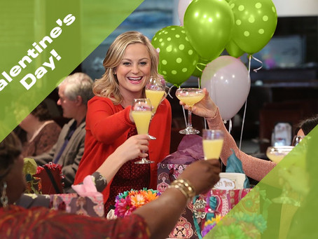 On Galentine's Day and Leslie Knope