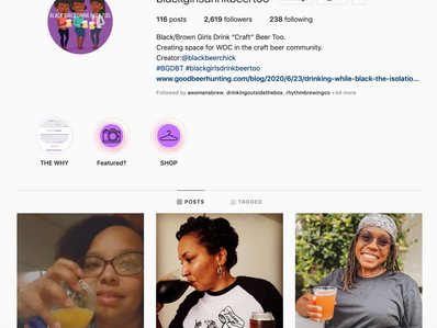 Are Instagram Beer Influencers Doing Enough for Diversity, Inclusion and Equity?