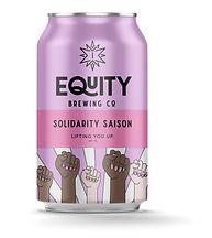 Solidarity Saison beer