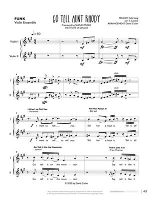 Go Tell Aunt Rhody - Violin Ens