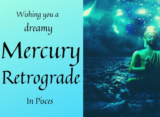 Mercury Retrograde in Pisces