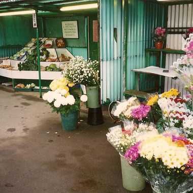 1990s Flower Stand