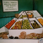 1990s Flower Stand Fruit and Veg