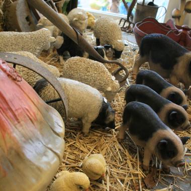 Farmyard Scene (Close Up)