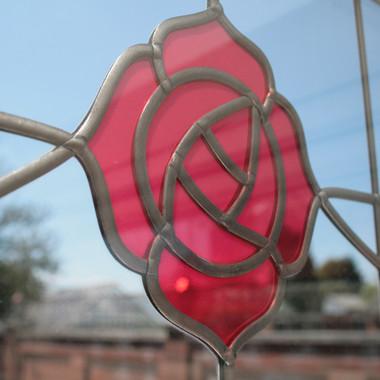Rose Glass Detail