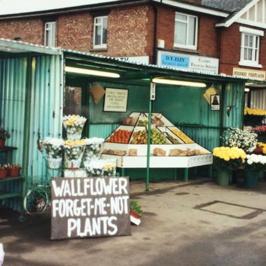 1990 Flower Stall