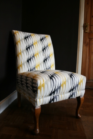 1950's Chair in Scion Fabric