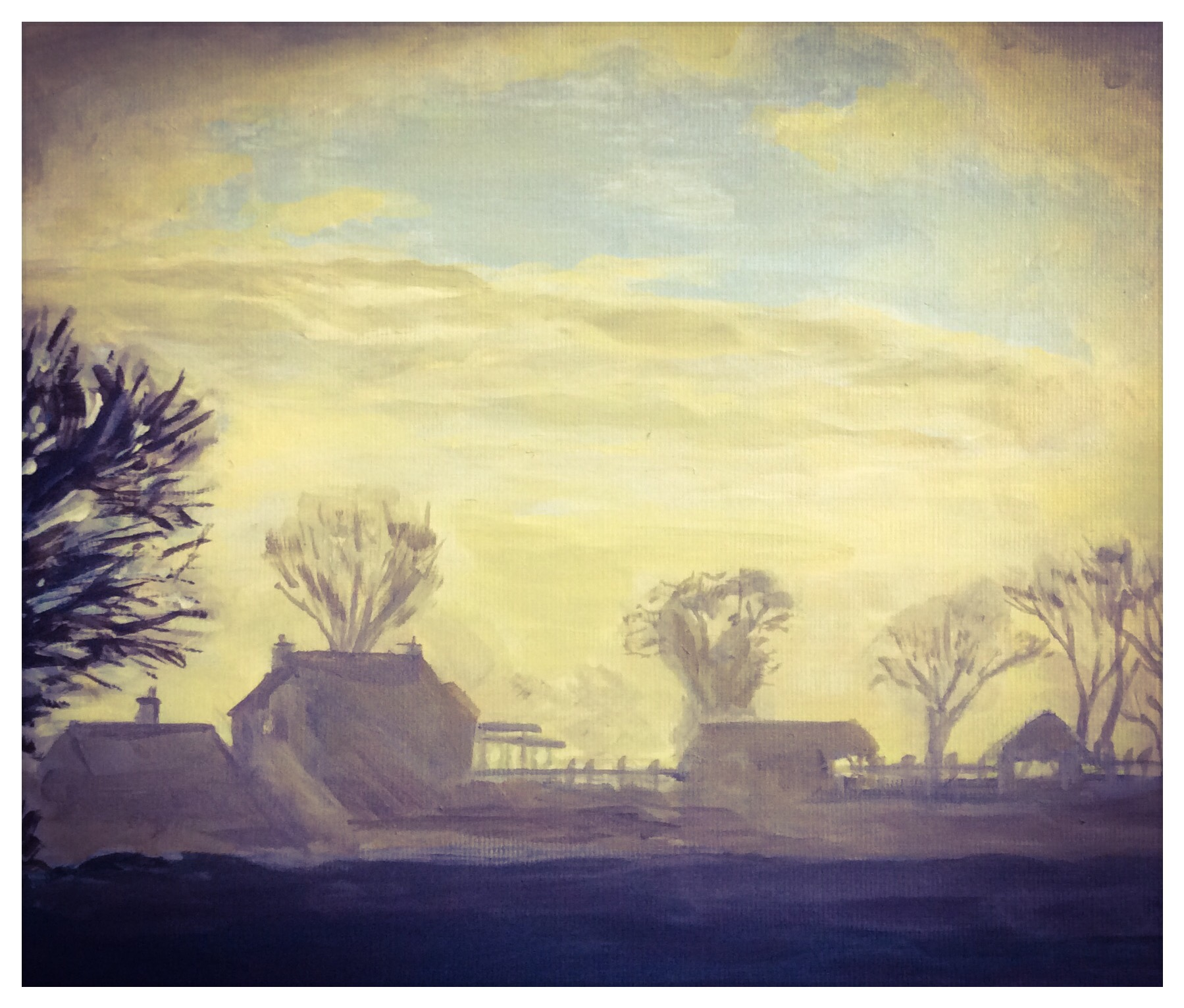 Kate Gabriel Norfolk landscape Ludham Lovers Lane