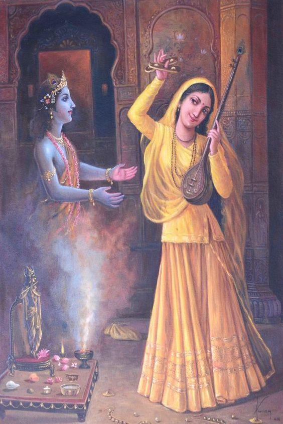Meera & Krishna