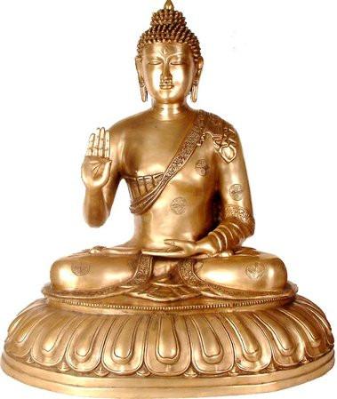 Buddha - Abhaya Mudra