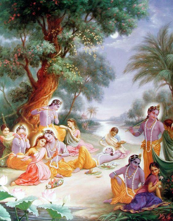 Raas Leela - Krishna & Gopi
