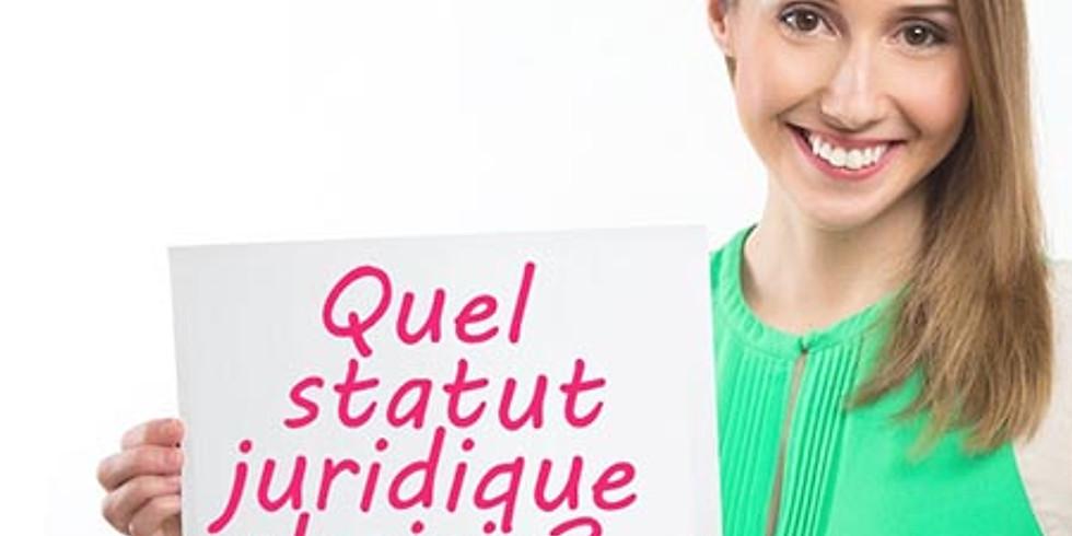 ATELIER JURIDIQUE - CHOIX DES STATUTS